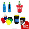 promotional custom free insulated soda neoprene beer can cooler