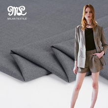 China wholesale best quality brushed woven ladies suiting fabric