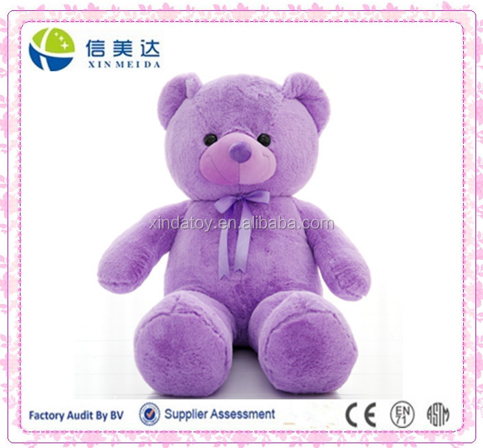 Closeout lavender purple teddy bear