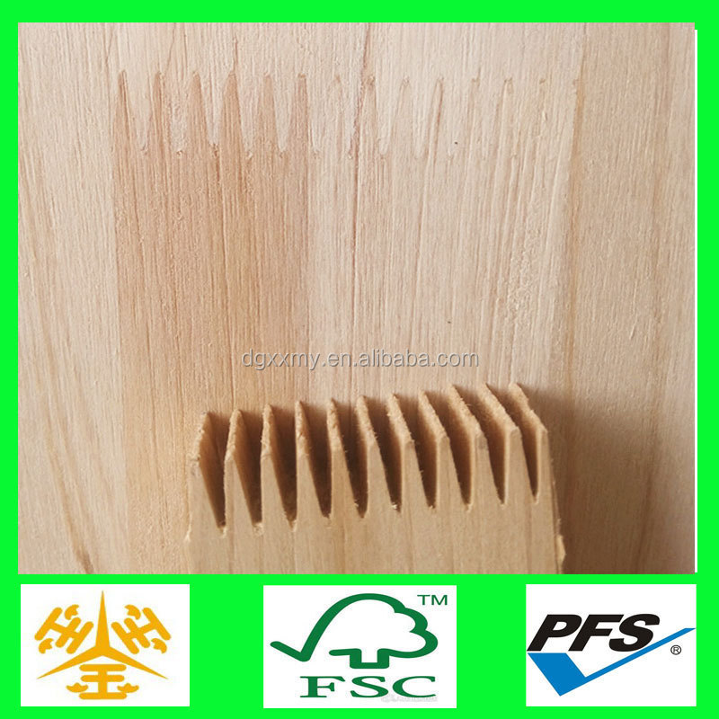 Special size decorative interior finger joint board for furniture