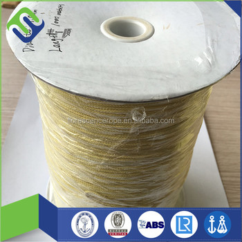 High temperature and fire-resistant kevlar aramid rope