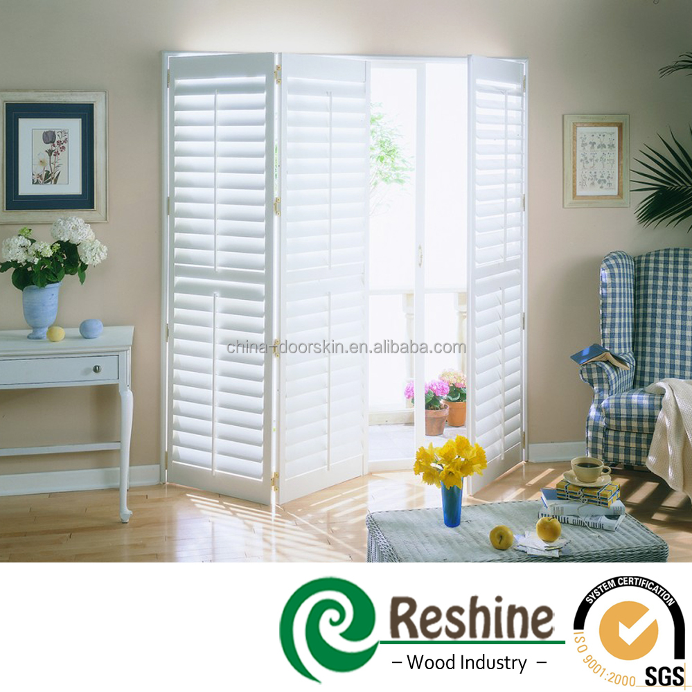 Pvc Decorative Moveable Sun Louvers Shutter