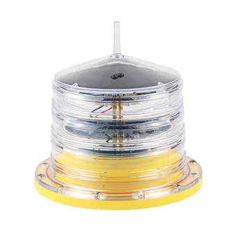 ICAO low intensity Type A LED Solar Aviation Obstruction Light