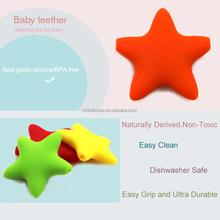 Rubber Safe Bulk baby teething teether toy Silicone Teether for kids