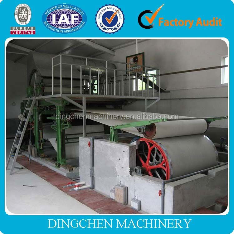 1575mm automatic machine for making toilet tissue paper recycled paper processing machine
