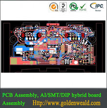 Auto system control panel PCB assembly electronic lock pcba