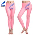 Girls Mesh Pink Yoga Leggings Plain Joggers