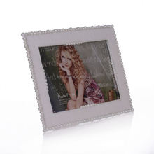 metal lover photo frame metal photo frame with human sensor a4 zinc alloy photo frame