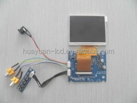 3.5 inch tft resistance lcd module touch screen for home smart control