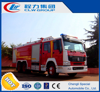 Brand New China made Sinotruck Howo Fire Fighter Fighting Truck And Equipment