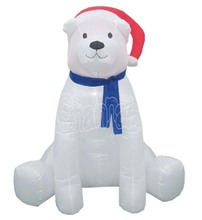 Christmas Self Inflating LED LIGHTS Polar bear Christmas Decoration Indoor/Outdoor use