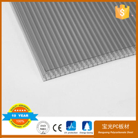 baoguang polycarbonate sheet greenhouse roofing panels 12mm