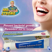 Control Plus Scope Flavor Denture Adhesive Cream