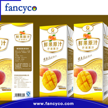 Aseptic beverage box carton packing composite materials