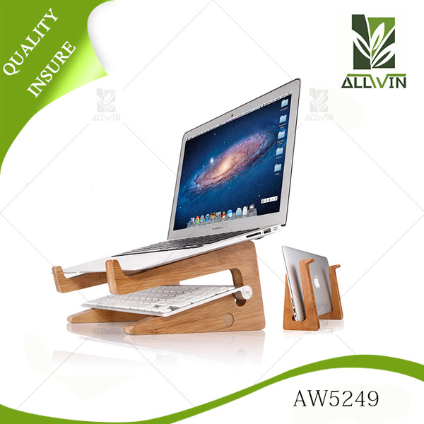 Handmade Natural Bamboo laptop Stand