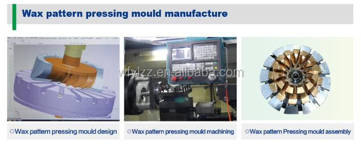 Vacuum investment casting
