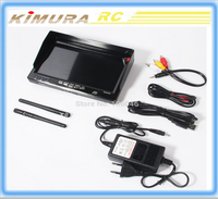 Boscam RC732-DVR 32CH HD 7'' 5.8GHz Diversity Receiver Built-in Battery FPV Monitor