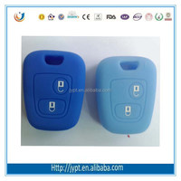 high quality silicone smart remote key case for peugeot remote key cover