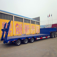 low bed truck trailer dimensions/manufacturing semitrailers in China