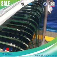 Chinese manufacture clear float 10mm tempered glass price for building