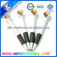 promotional plastic ball pens with custom logo