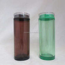 easy to go wholesale double wall acrylic tumbler with paper insert