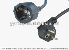 european standard extension power cord
