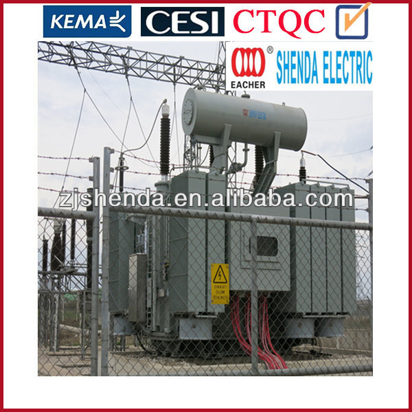 30MVA 3 phase 2 winding oil power electric transformer