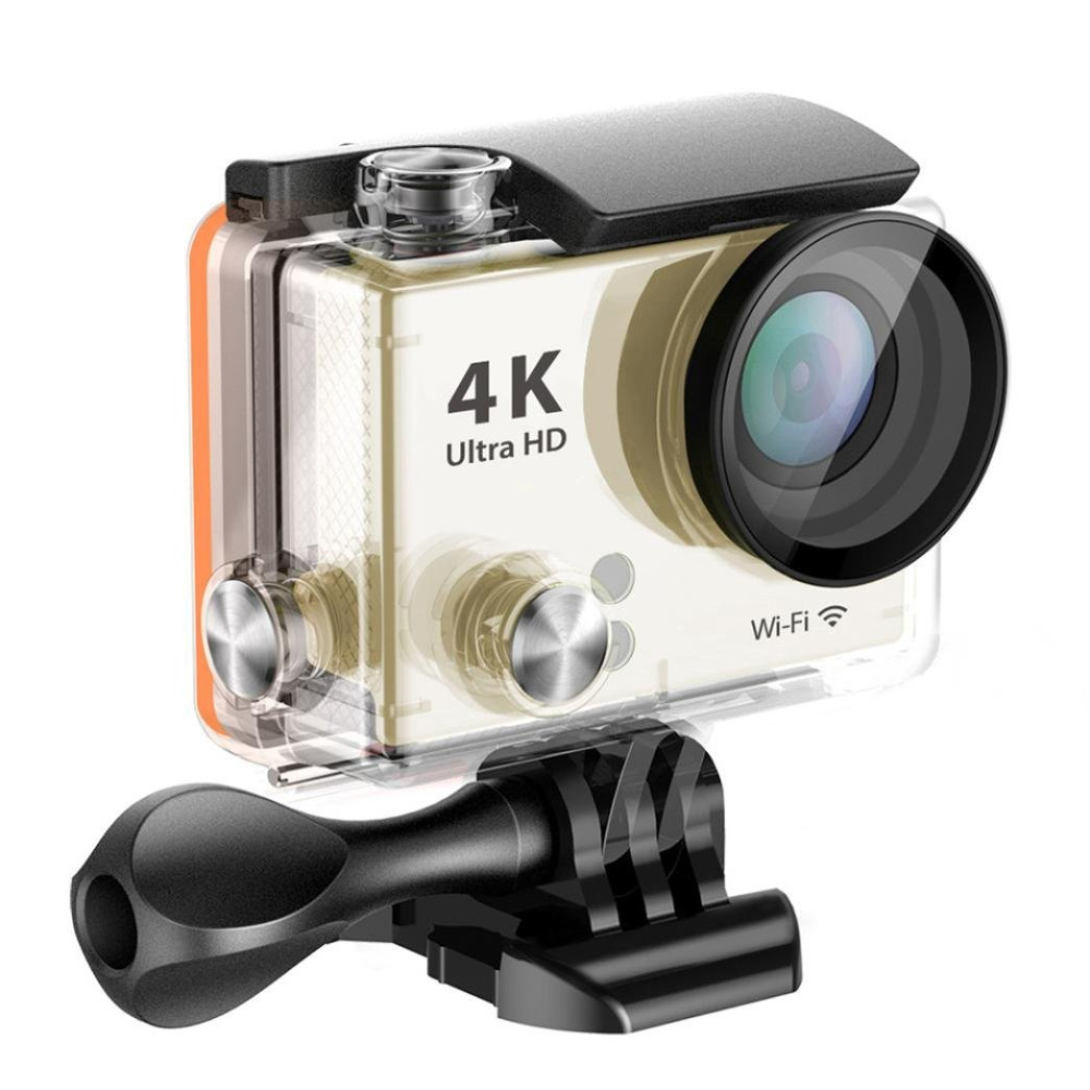 HD 4K Video 170 degrees Wide Angle Sports action Camera 2-inch Screen4K 25fps/ 2.7K 30fps/ 1080P 60fps wifi sport Cam DV-12