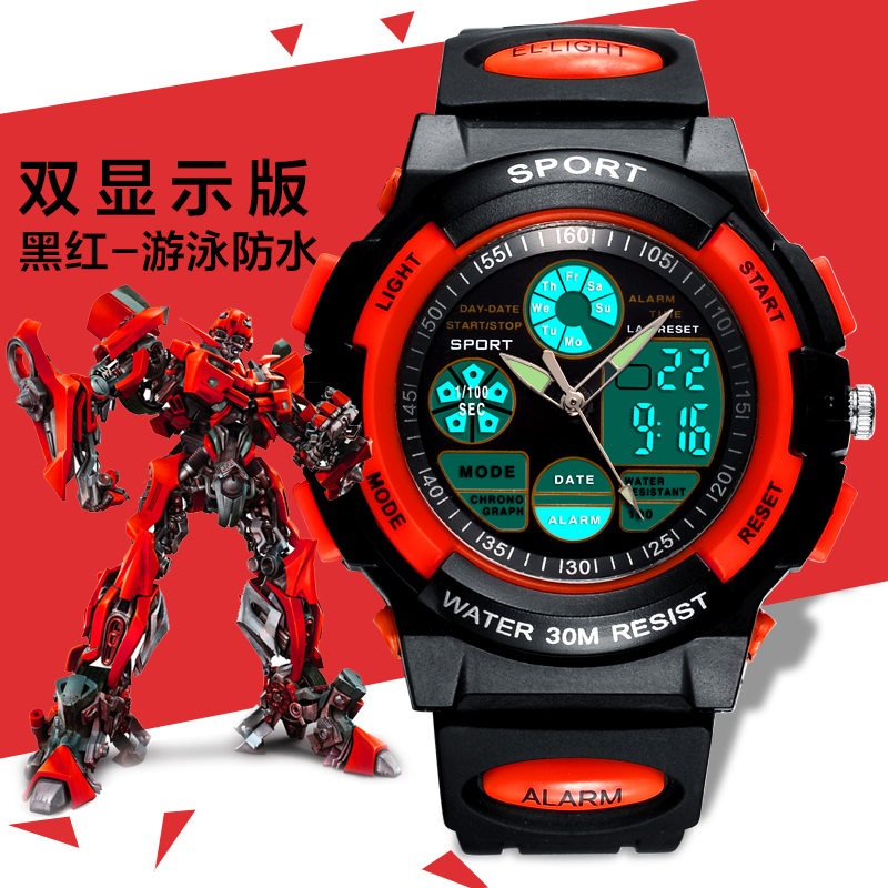 remote control fire water cannon plastic army sports watch for man with gps 3g 4g wifi optional