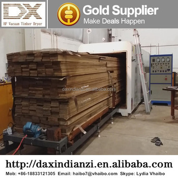 DX-6.0III-DX Full-auto hf vacuum dryer kiln walnut wood lumber drying equipment