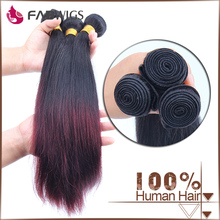 FABWIGS 6a 7a 8a grade 3 bundles red brazilian hair wave hair extension china suppliers