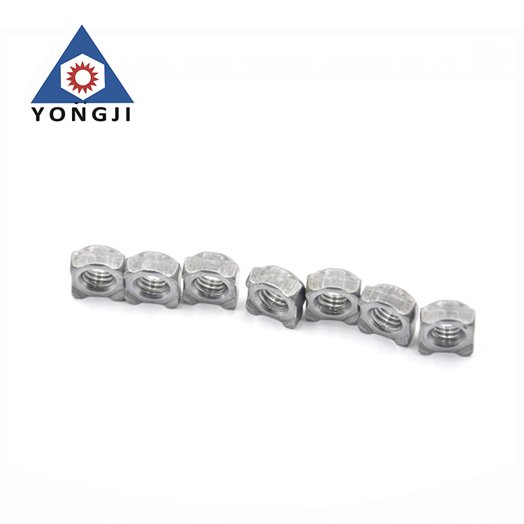 Hardware Manufacturer Customized Zinc Plating Square Weld Nut