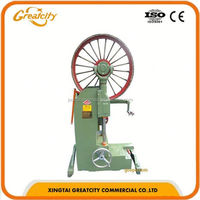 vertical wood cutting bandsaw,horizontal band sawmill