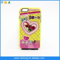 best selling on amazon custom smartphone case design for iPhone 6 with high quality printing