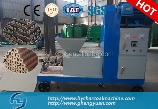 high yield peanut shell charcoal briquette press machine