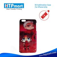 3d vacuum heat press printing sublimation blank phone case for iphone 6/6s