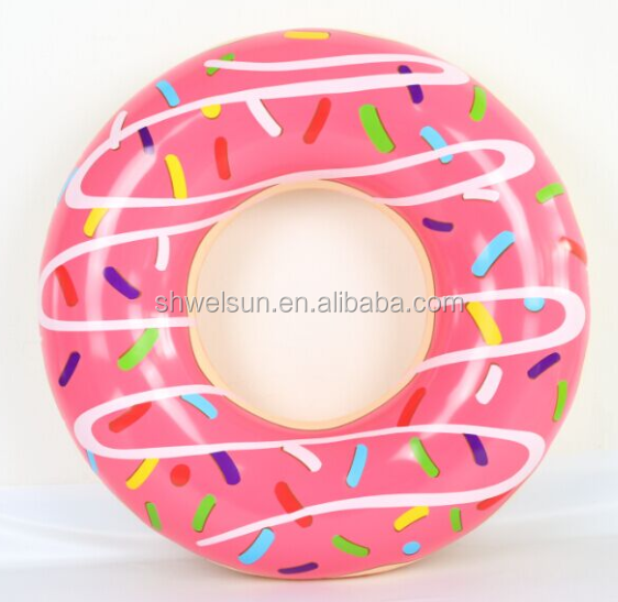 new design sea world inflatable swim tube ring 51cm