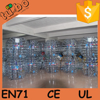 HI CE TOP quality 0.8mm PVC/TPU adults inflatable bubble soccer, bo ball game, soccer zorb ball