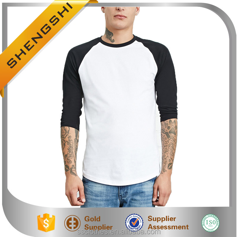 Wholesale used clothing comfortable running shirt dry fit baseball tee shirts