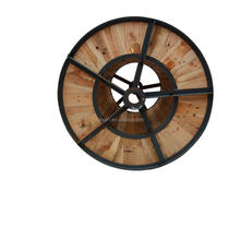 1800mm heat treatment certificate large power wooden & steel cable drum weight