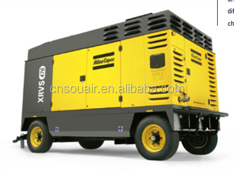 2015 XRS846 Cd Atlas Copco diesel air compressor competitive prices portable diesel air compressor