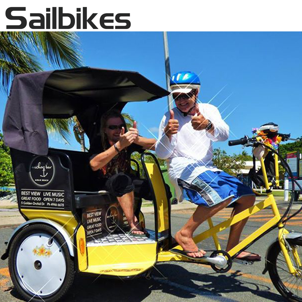 electric tricycle pedal assisted used pedicab for sale