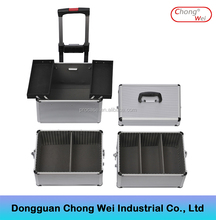 Aluminum trolley case for the Professional Makeup Artist case