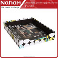 NAHAM Creative Dot Desk Office File Document Storage Tray
