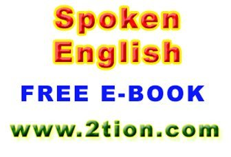 Spoken English Audio-Video Training