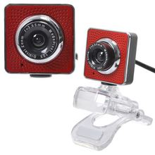 HD PC Webcam, Laptop Web Camera, 20 Maga Pixel Camera 2.0 USB MIC Webcam with Crystal Clamp
