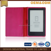 Hot new product folding stand PU leather tablet cover / case for eReader