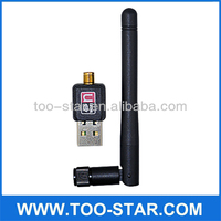 Mini 150M Wireless USB Wifi Adapter With Antenna 802.11 n/g/b