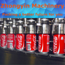 Brewers choice carbonated drinks automatic big bottle aluminum foil sealing machine beer filling&capping line